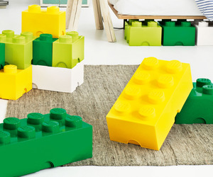 Lego® Storage Containers in 9 Colors