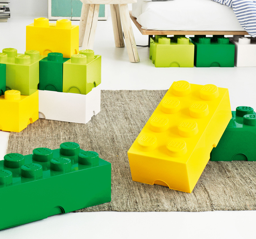 & Lego® Storage Containers in 9 Colors