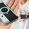 Leica look-alike Iphone4 Skin
