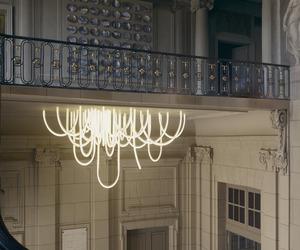 Les Cordes chandelier by Mathieu Lehanneur