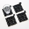 Letter Coasters and Number Placemats