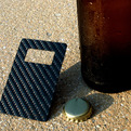 Leverage: The Carbon Fiber Card Sized Bottle Opener