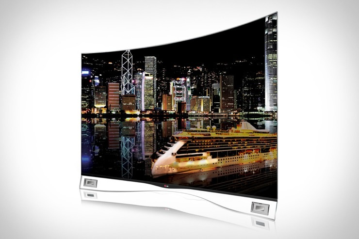 lg oled curved screen tv. Black Bedroom Furniture Sets. Home Design Ideas