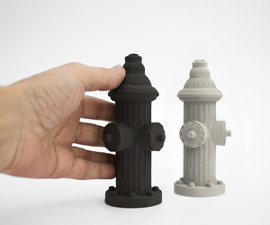 Li2bit, Concrete Fire Hydrant Salt + Pepper Shakers