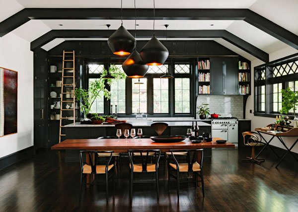 Library House by Jessica Helgerson Interior Design