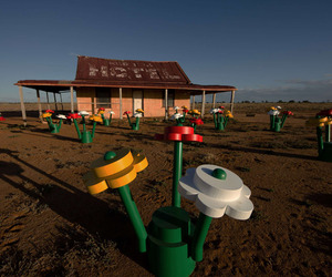 Life Sized LEGO Forest Installation in Australia