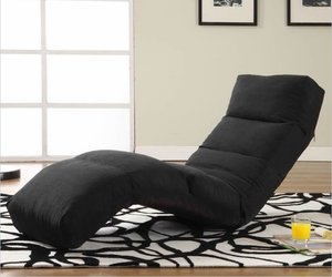 LifeStyle Solution's Curved Lounge Chair
