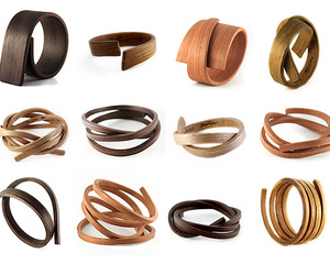 Limited Edition Bent Wood Bracelets & Cuffs