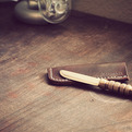 Limited Edition brass letter opener