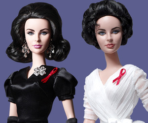 Ltd Edition Elizabeth Taylor Barbie Dolls by Robert Best