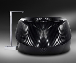 Limited Edition Luxury Tub Made of Carbon Fiber