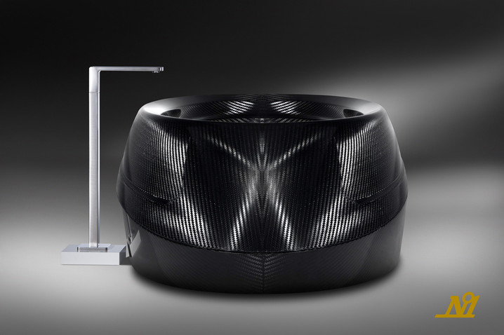 f5de2391959a Limited Edition Luxury Tub Made of Carbon Fiber