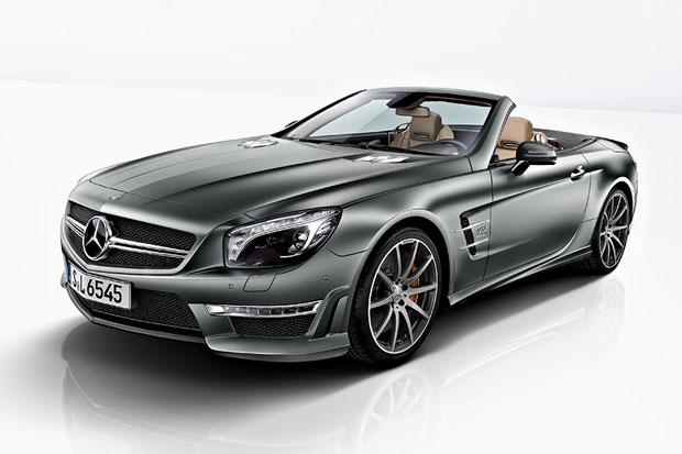 Limited edition mercedes benz sl65 amg 45th anniversary for Mercedes benz limited edition