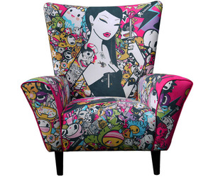 Limited Edition Tokidoki Singapore Wingchair