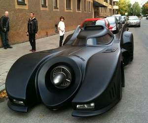 Lincoln Continental Becomes Bat Car