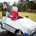 Little Cooper's DeLorean Costume for Halloween