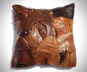 Little Shoes Throw Pillow by Baptiste Viry
