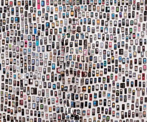 Liu Bolin's exhibition at Galerie Paris-Beijing