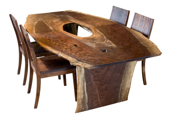 Live Edge Dining Table The Joinery