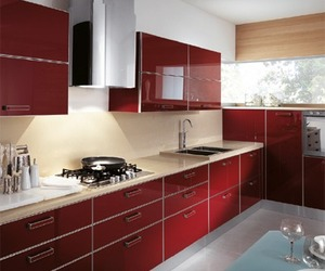 Lively Red, New 2011 Kitchen Color from Scavolini