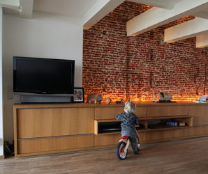 Living room credenza.