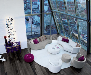 Living Room Inspiration: Roche Bobois Sofas