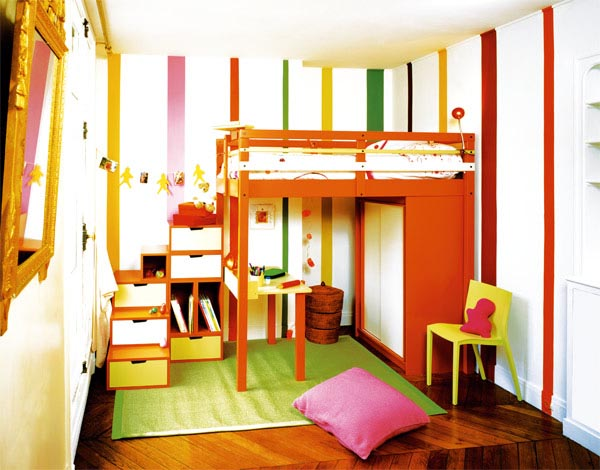 loft bed from espace loggia