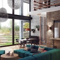 Loft-Like Interior Design by Uglyanitsa Alexander