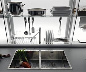 Logica Kitchen System by Valcucine