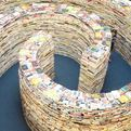London Maze Built With More Than 250,000 Books