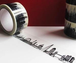 London Skyline Decorative Sticky Tape