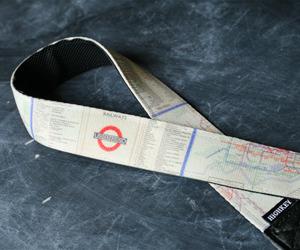 London Underground Camera Strap