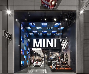 London's MINI Pop Up Shop by Studio 38