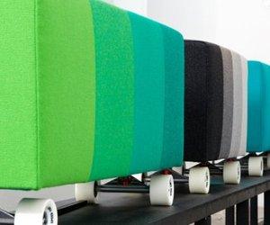 Longboard stool
