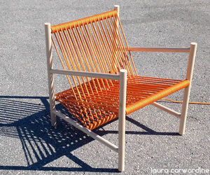 Loom lounge chair by Laura Carwardine