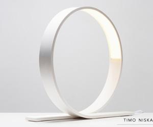 Loop lamp by Timo Niskanen