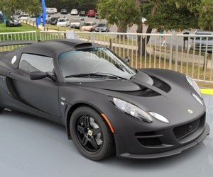 Lotus Exige Matte Black Final Edition