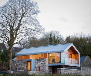 Loughloughan Barn in Ireland by McGarry Moon Architects