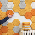 Lovely Hexagon Wood Tiles by Form Us With Love