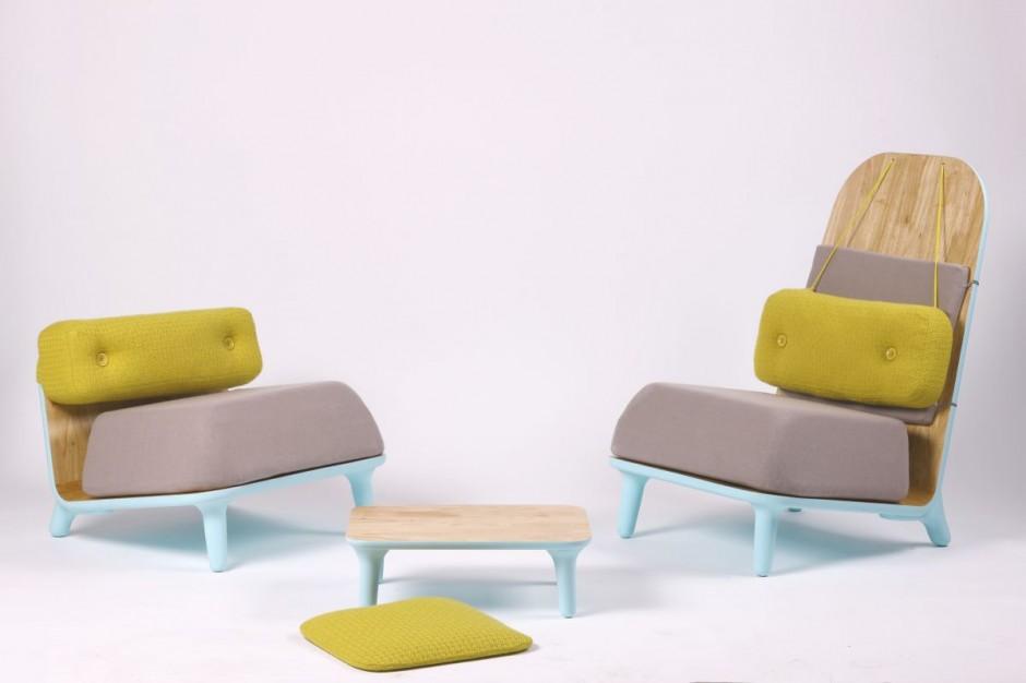 & Low Chairs Family by Jovana Bogdanovic