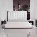 Ludlow Leather Bed