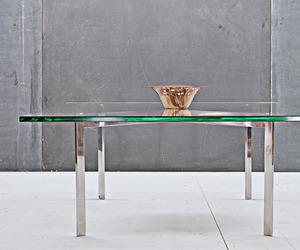 Ludwig Mies Van de Rohe Barcelona Table Vintage Mid-Century