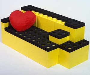 LunaBlocks - Unique Furniture Made of Giant Lego Bricks