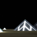 Lunar Cubit Solar Panel Pyramids