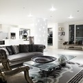 Luxurious Antique Decorations in a Modern Apartment, London