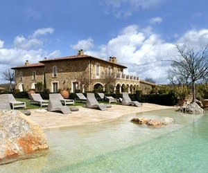 Luxurious Borgo Santo Pietro Villa in Tuscany