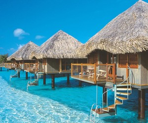 Luxurious Le Meridien Bora Bora Resort