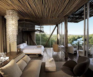 Luxurious Singita African Game Reserve