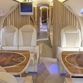 Luxury Interior Airplane Tupolev 134