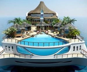 Luxury Tropical Island Paradise Yacht